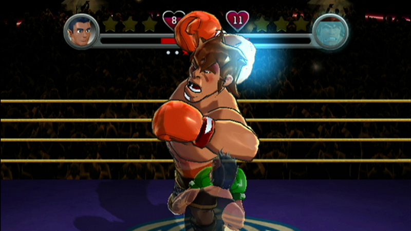 Punch out on game and player for What is a punch out list