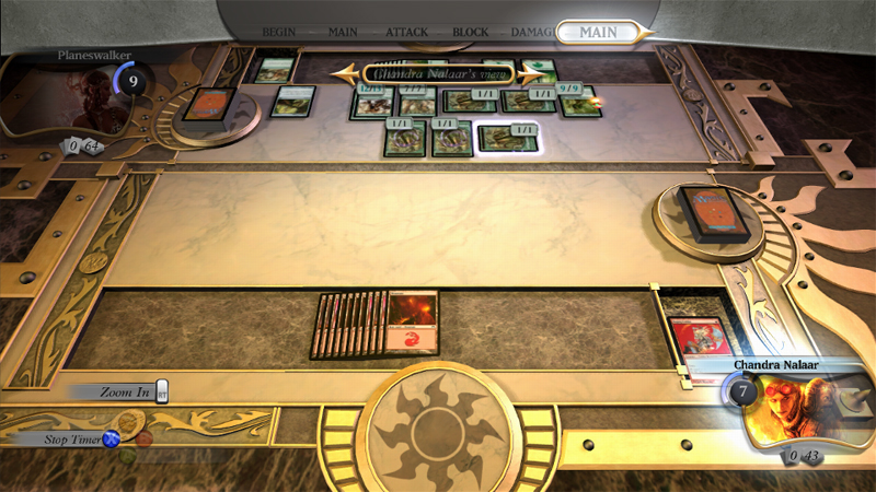 Duels of the planeswalkers on game and player - Magic the gathering game table ...