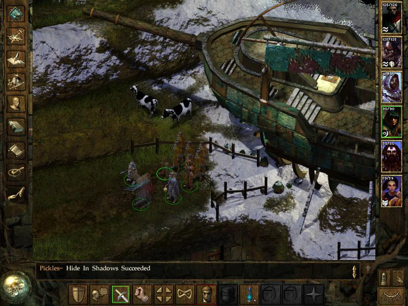 Icewind Dale On Game And Player