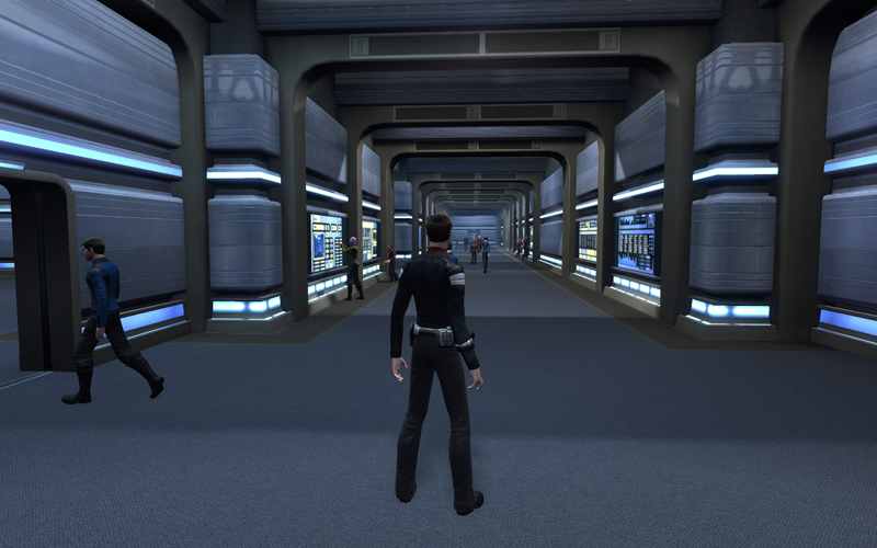 star trek online how to get back to the ship